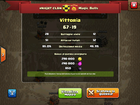 #NIGHT CLAN VS MAGIC BULLS