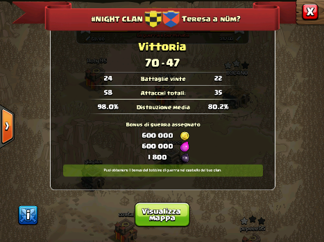 #NIGHT CLAN VS TERESA A NUM?