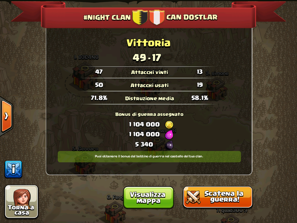 #NIGHT CLAN VS CAN DOSTLAR