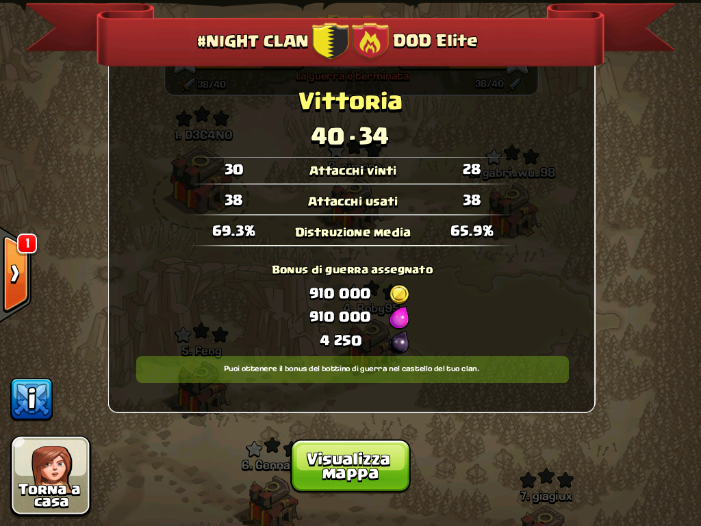 #NIGHT CLAN VS DOD Elite
