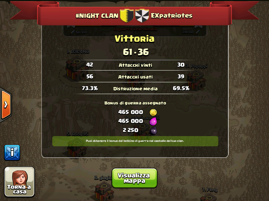 #NIGHT CLAN VS EXpatriotes