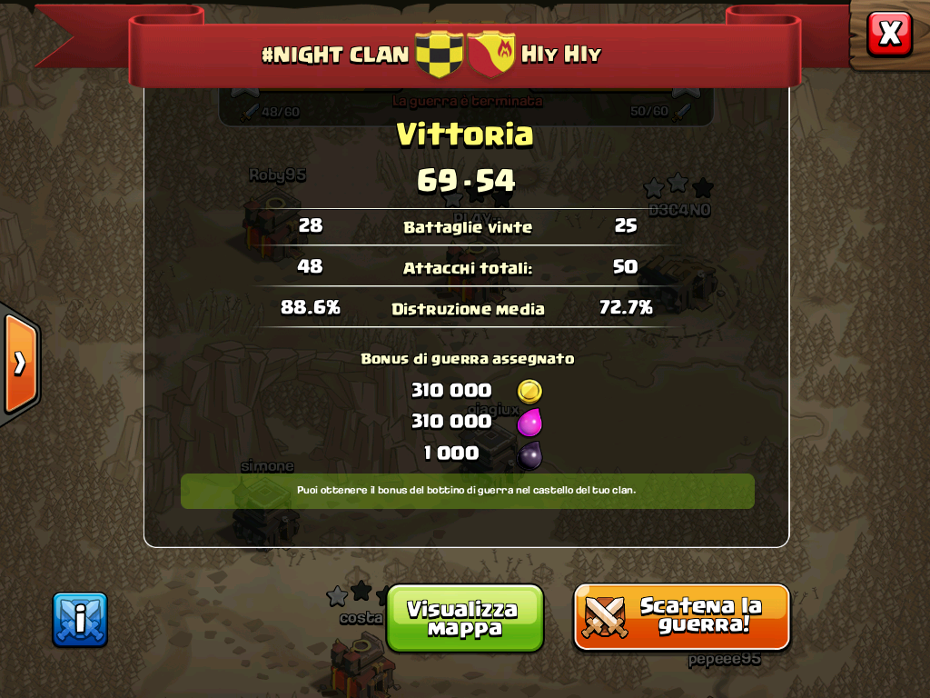 #NIGHT CLAN VS Hly Hly
