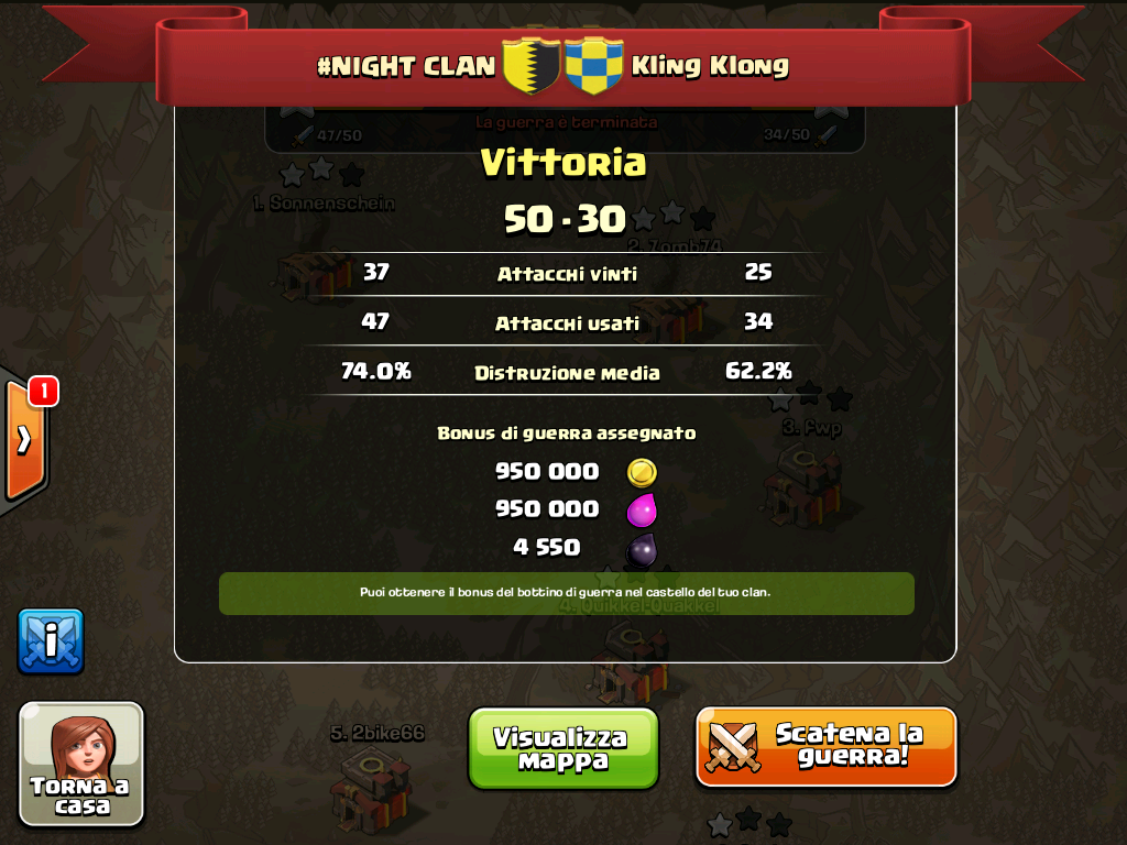 #NIGHT CLAN VS Kling Klong