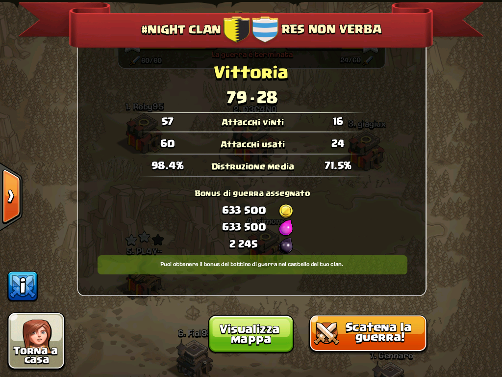 #NIGHT CLAN VS RES NON VERBA
